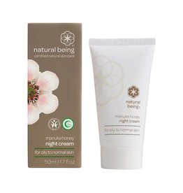 Living Nature Manuka Honey Night Cream - Oily to Normal