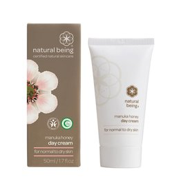Living Nature Manuka Honey Tagescreme - normal bis trocken