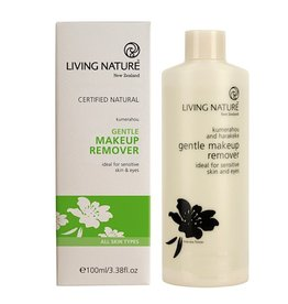 Living Nature Gentle Eye and Makeup Remover