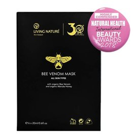Living Nature Bee Venom Mask 6 pcs