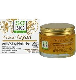 SO'BiO étic Argan Anti-Aging Night Gel