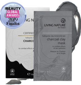 Living Nature Charcoal Clay Mask