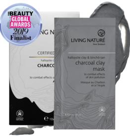 Living Nature Charcoal Holzkohl Ton Maske