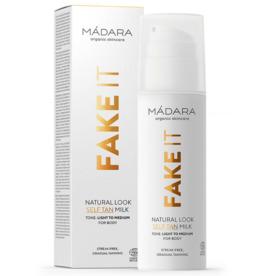 MÁDARA FAKE IT Natural Look Self Tan Milk