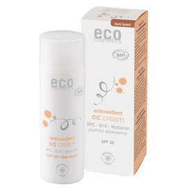 Eco Cosmetics CC Cream SPF30 tinted dark