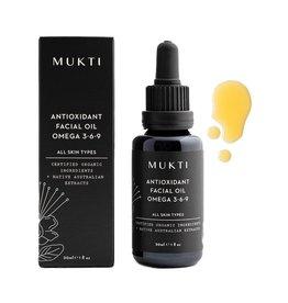 MUKTI Organics Antioxidant Facial Oil Omega 3-6-9