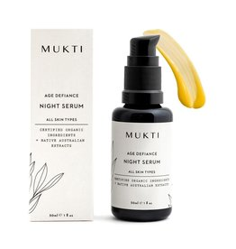 MUKTI Organics Age Defiance Night Serum