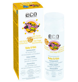 Eco Cosmetics Baby & Kids Sun Cream SPF50+