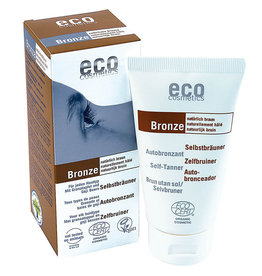 Eco Cosmetics Self-tanner with Pomegranate and Goji berries