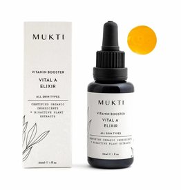 MUKTI Organics #1 Vitamin Booster Vital A Elixir
