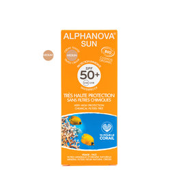 Alphanova SUN Tinted Face Cream SPF50+
