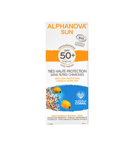 Alphanova SUN Face Cream SPF50+ fragrance free