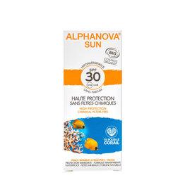 Alphanova SUN Face Cream SPF30 Parfumvrij