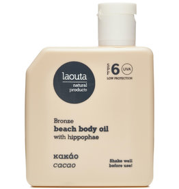 Laouta Bronze  Beach Body Oil Cacao SPF6
