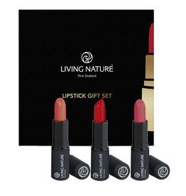 Living Nature Lippenstift Geschenkset