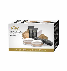 INIKA Makeup Foundation Trial Pack 4 Dark