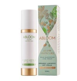 Abloom Organic Luminous SPF30+ Cream Sunkissed