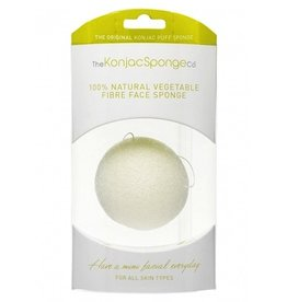 Konjac Sponge Premium Facial Puff Pure White