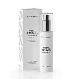 MÁDARA Time Miracle Total Renewal Nachtcreme