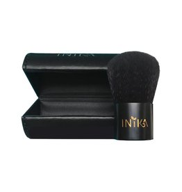 INIKA Makeup Vegan Pro Kabuki Pinsel mit Travel Case