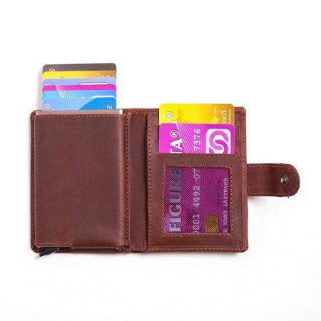 Figuretta Cardprotector leer - Hunter brown