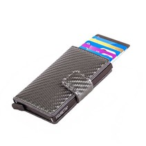 Cardprotector Carbon Look - Anthracite