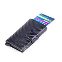 Cardprotector Look Carbone - Noir