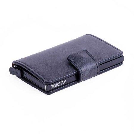 Figuretta Cardprotector PU leather - Anthracite