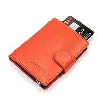 Cardprotector leather - Red