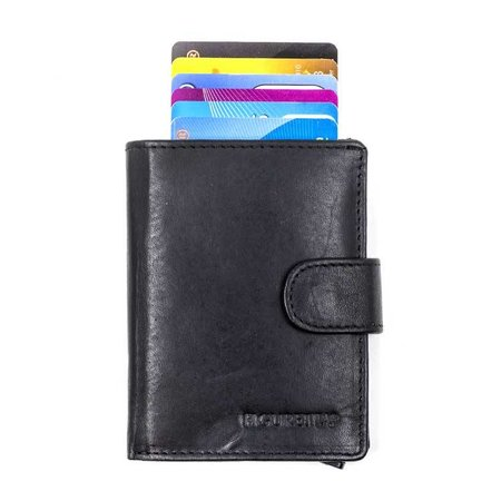 Figuretta Cardprotector leather - Black