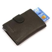 Cardprotector leer - Zwart