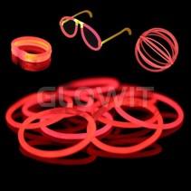 100 glow armbandjes Rood