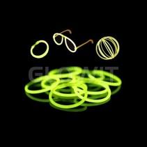 100 glow armbandjes Groen