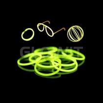 100 Luminous Bracelets Green
