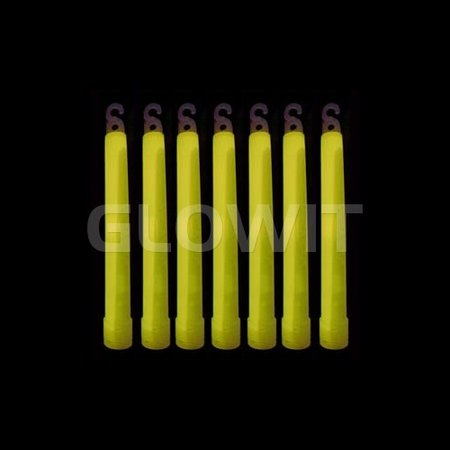 Glowit 25 Breeklichten/Breaklights - 150mm x 15mm - Geel