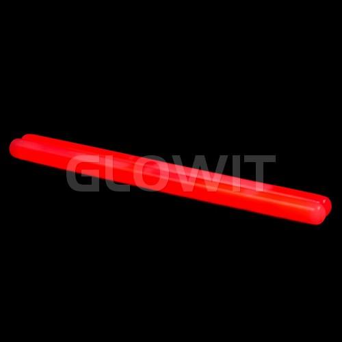 Glowit 10 glowsticks 250mm x 15mm - Red