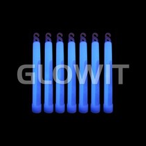 25 Glowsticks 150mm Blue