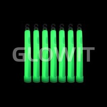 25 Glowsticks - 150mmx15mm - Groen