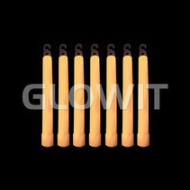 25 Glowsticks 150mm Oranje