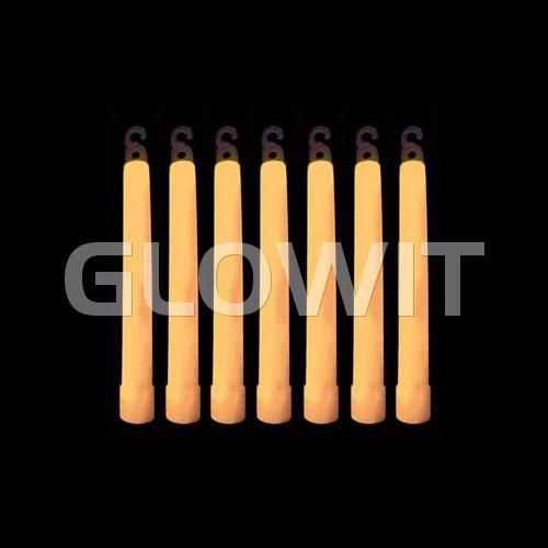Glowit 25 Breeklichten/Breaklights - 150mm x 15mm - Oranje