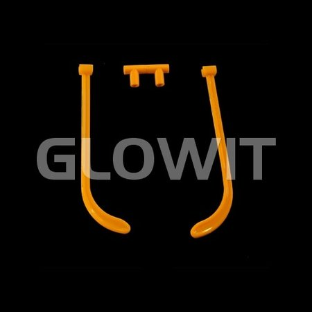 Glowit 25 Glow glass connectors (Without sticks)