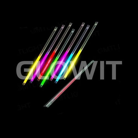 Glowit 25 Glow straws - 220mm x 7mm - Mixed