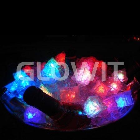 Glowit Led ice cube - 30mm x 30mm x 30mm - multi