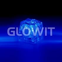 Glaçon LED bleu