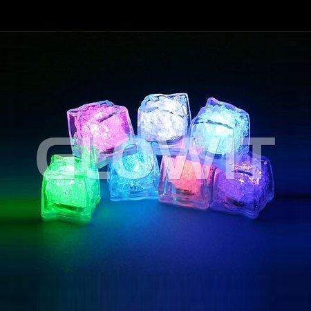 Glowit Led ijsblokje - 30mm x 30mm x 30mm - Blauw