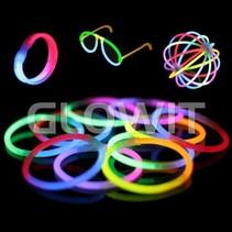 100 Bracelets lumineux Mix