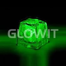Glaçon LED vert