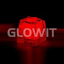 Glaçon LED rouge