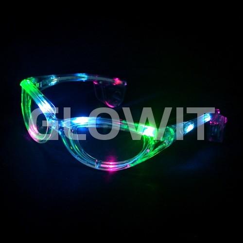 Glowit lunettes de soleil LED - multi couleur