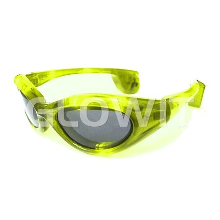 Glowit Led zonnebril - Geel